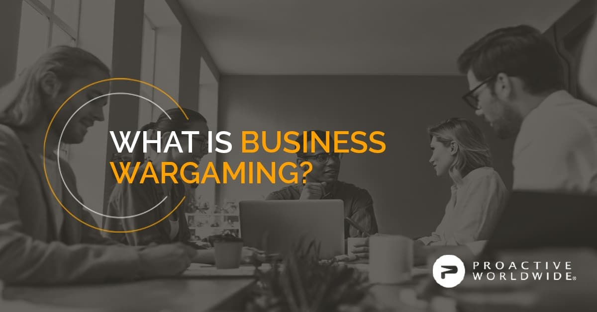 What is Business Wargaming?