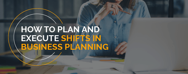 Planning and Implementing changes in Business Strategy